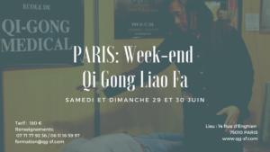 PARIS: Stage Week-end Qi Gong Liao Fa (médical – thérapeutique)